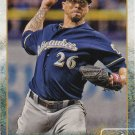 Kyle Lohse 2015 Topps #410 Milwaukee Brewers Baseball Card