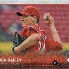 Homer Bailey 2015 Topps #541 Cincinnati Reds Baseball Card