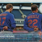 Kris Bryant-Addison Russell 2015 Topps Update #US79 Chicago Cubs Baseball Card