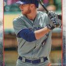 Michael Saunders 2015 Topps #424 Toronto Blue Jays Baseball Card