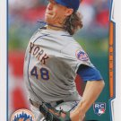 Jacob deGrom 2014 Topps Update Rookie #US-50 New York Mets Baseball Card