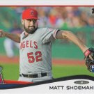 Matt Shoemaker 2014 Topps Update Rookie #US-268 Los Angeles Angels Baseball Card