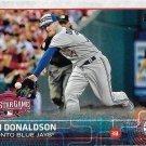 Josh Donaldson 2015 Topps Update #US58 Toronto Blue Jays Baseball Card