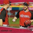 Bryce Harper 2015 Topps All-Star Access #MLB-25 Washington Nationals Baseball Card