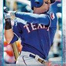 Leonys Martin 2015 Topps #417 Texas Rangers Baseball Card