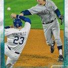 Brad Miller 2015 Topps Update #US7 Seattle Mariners Baseball Card