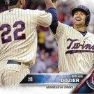Brian Dozier 2016 Topps #308 Minnesota Twins Baseball Card