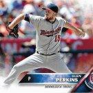 Glen Perkins 2016 Topps #76 Minnesota Twins Baseball Card