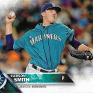 Carson Smith 2016 Topps #80 Seattle Mariners Baseball Card