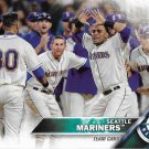Seattle Mariners 2016 Topps #79 Baseball Team Card