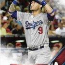 Yasmani Grandal 2016 Topps #91 Los Angeles Dodgers Baseball Card