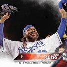 Johnny Cueto 2016 Topps #61 Kansas City Royals Baseball Card