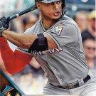 Giancarlo Stanton 2016 Topps #269 Miami Marlins Baseball Card