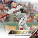 Brad Ziegler 2016 Topps #25 Arizona Diamondbacks Baseball Card