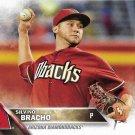 Silvino Bracho 2016 Topps Rookie #251 Arizona Diamondbacks Baseball Card
