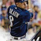 Ryan Braun 2016 Topps #298 Milwaukee Brewers Baseball Card