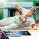 Matt Holliday 2016 Topps #254 St. Louis Cardinals Baseball Card
