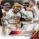 Pittsburgh Pirates 2016 Topps #65 Baseball Team Card