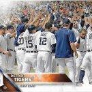 Detroit Tigers 2016 Topps #297 Baseball Team Card