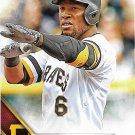 Starling Marte 2016 Topps #83 Pittsburgh Pirates Baseball Card