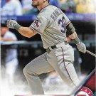 Josh Hamilton 2016 Topps #341 Texas Rangers Baseball Card