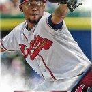 Julio Teheran 2016 Topps #52 Atlanta Braves Baseball Card