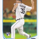 Luke Putkonen 2013 Topps Update Rookie #US43 Detroit Tigers Baseball Card
