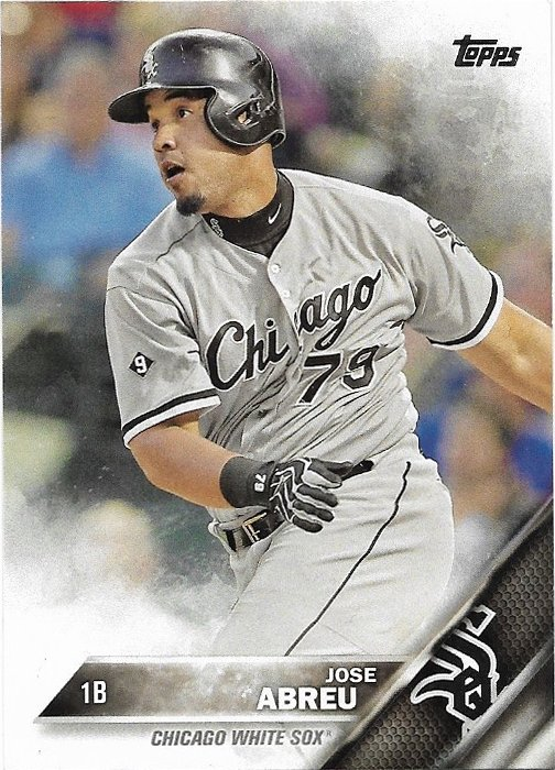 Jose Abreu 2016 Topps 173 Chicago White Sox Baseball Card