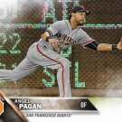 Angel Pagan 2016 Topps #299 San Francisco Giants Baseball Card