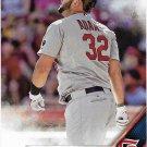 Matt Adams 2016 Topps #434 St. Louis Cardinals Baseball Card