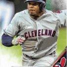 Rajai Davis 2016 Topps #468 Cleveland Indians Baseball Card