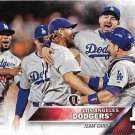 Los Angeles Dodgers 2016 Topps #569 Baseball Team Card