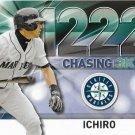 Ichiro Suzuki 2016 Topps Chasing 3K #3000-13 Seattle Mariners Baseball Card
