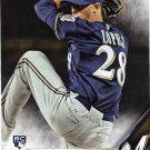 Jorge Lopez 2016 Topps Rookie #634 Milwaukee Brewers Baseball Card