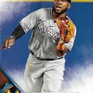 Marcell Ozuna 2016 Topps #572 Miami Marlins Baseball Card