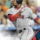 Rusney Castillo 2016 Topps #75 Boston Red Sox Baseball Card