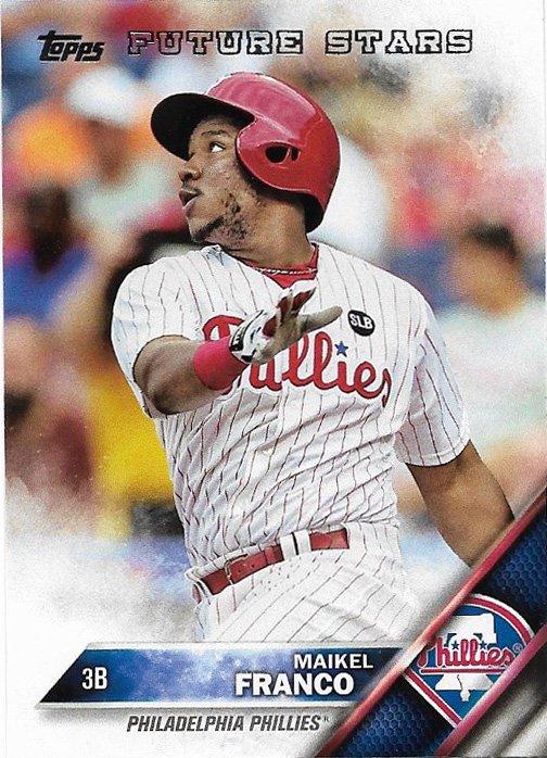 Maikel Franco 2016 Topps #207 Philadelphia Phillies Baseball Card