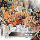 Baltimore Orioles 2016 Topps #238 Baseball Team Card