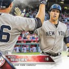 Mark Teixeira 2016 Topps #204 New York Yankees Baseball Card
