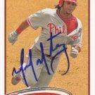 AUTOGRAPH: Michael Martinez 2012 Topps #64 Philadelphia Phillies Baseball Card