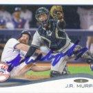 AUTOGRAPH: John Ryan (JR) Murphy 2014 Topps Rookie #231 New York Yankees Baseball Card