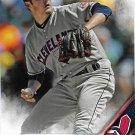 Trevor Bauer 2016 Topps #193 Cleveland Indians Baseball Card