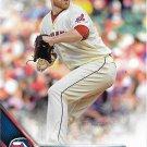 Zach McAllister 2016 Topps #374 Cleveland Indians Baseball Card