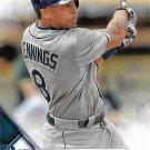 Desmond Jennings 2016 Score #618 Tampa Bay Rays Baseball Card