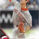 Michael Lorenzen 2016 Score #437 Cincinnati Reds Baseball Card