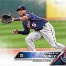 Eduardo Nunez 2016 Score #534 Minnesota Twins Baseball Card