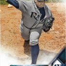 Erasmo Ramirez 2016 Score #483 Tampa Bay Rays Baseball Card