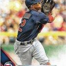 Francisco Lindor 2016 Topps #439 Cleveland Indians Baseball Card