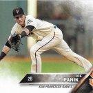 Joe Panik 2016 Topps #137 San Francisco Giants Baseball Card