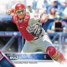 Carlos Ruiz 2016 Topps #237 Philadelphia Phillies Baseball Card